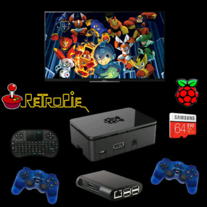 Retro game box with 7500 games and 18 consoles