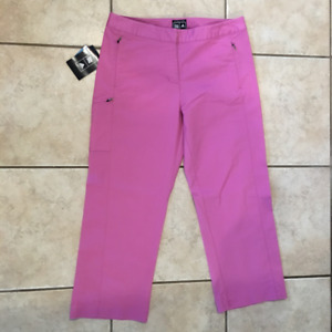 ADIDAS GOLF LADIES CAPRIS SZ 8 **NEW WITH TAGS**