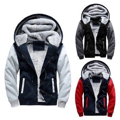 Men's Winter Padded Hooded Outwear Male Outdoor Anti Wind Ja