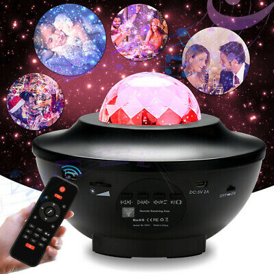 Projektor Sternenhimmel galaxy LED Halloween Nachtlicht Timer lampe - Led-halloween