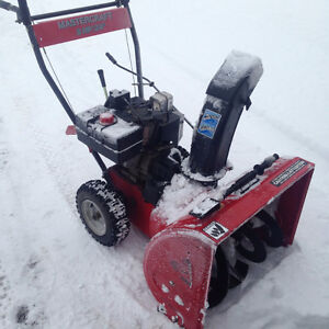 Master craft 8hp snowblower