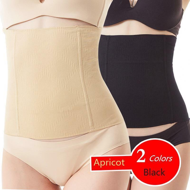 321cbbc7f Details about Waist Trainer Slimming Belt Body Shaper Postpartum Belly Band  Underwear Corset
