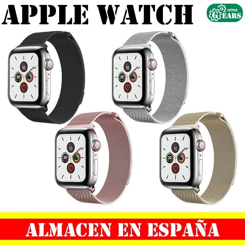 Cinturino Acciaio in Maglia Milanese Apple Watch Serie 1/2/3/4/5/6 42/44mm