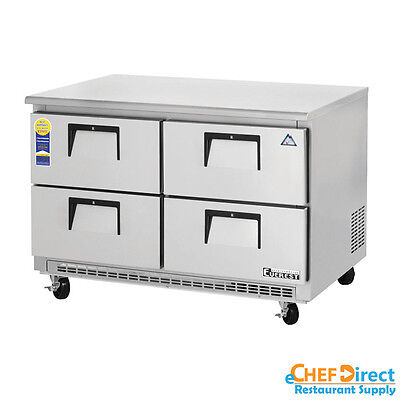 Everest Etbr2-d4 48 Four Drawer Undercounter Refrigerator