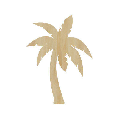 Laser Cut Out Wood Palm Tree Wood Shape Craft Supply - Unfinished Wood shape](Palm Tree Cut Outs)