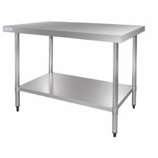 Vogue Stainless Steel Prep Table 900mm Stainless Steel StainlessV