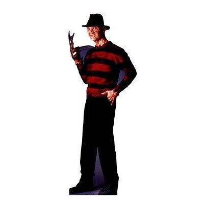 Lifesize Cardboard Cutout (FREDDY KRUEGER Nightmare On Elm Street Lifesize CARDBOARD CUTOUT Standup)