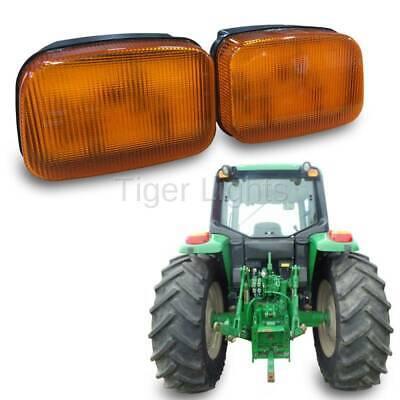 Led John Deere Amber Cab Light Tl7020r - Right Oem Re39581 Re39582