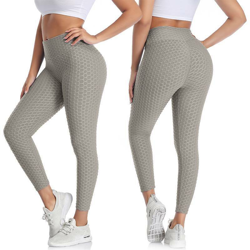 Damen Anti Cellulite Kompression Leggings Yoga Hose Figurformer Hüfte Hosen DE