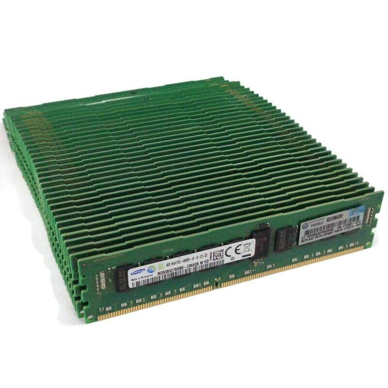 Lot of 36 HP 725272-001 Samsung M393B5270QB0 4GB PC3-14900R Memory RAM ECC REG