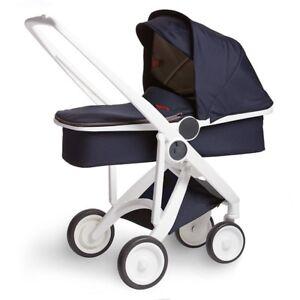 Brand New European Baby Stroller: 2 in 1 (Mint + Navy Combo)