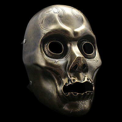 Halloween Masquerade Costume Mask Resin Death Eater Harry Potter Movie - Death Eater Halloween Mask