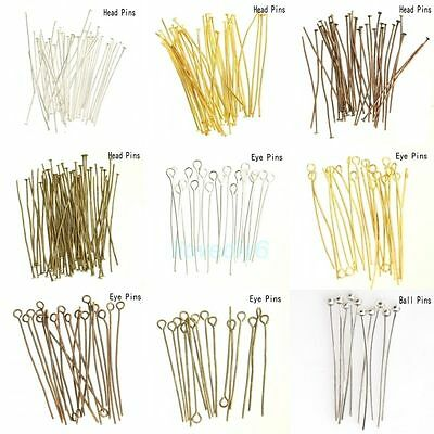 2Pcs Curved Beading Needles Easy Thread Cord Findings  DIY Craft 75//100//125MM