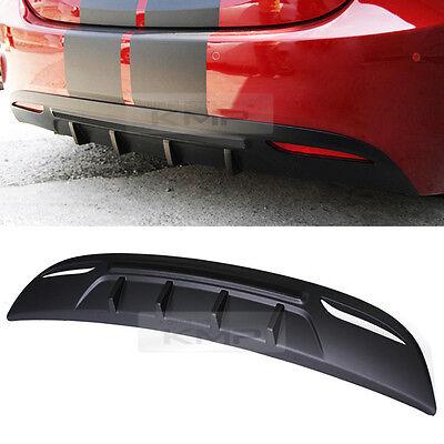 Rear Bumper Guard Plate Molding Diffuser Cover For HYUNDAI 2011-2013 Elantra MD
