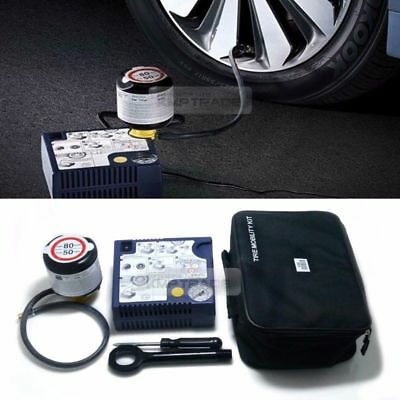 Genuine Parts Tire Mobility Kit Inflator Air Compressor Pressure Pump For KIA