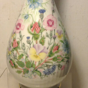 Aynsley Fine English Bone China Wild Tudor Hand Painted Vase