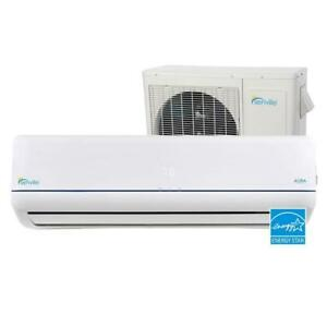 THERMOPOMPE MURALE / SENVILLE AURA / 22.5 SEER -30C ENERGY STAR / WI-FI