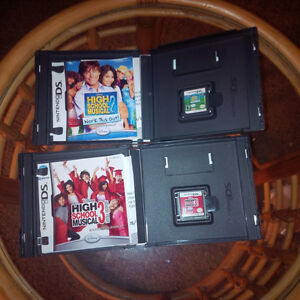 High School Musical Nintendo Ds Games Cambridge Kitchener Area image 1