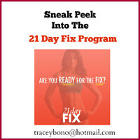 FREE 5 Day Sneak Peek Into the 21 Day Fix Program