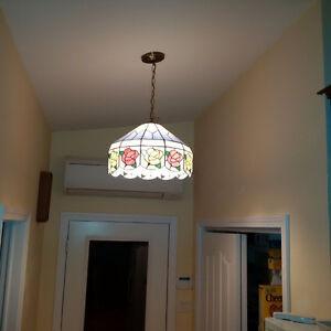 2 Matching indoor light fixtures