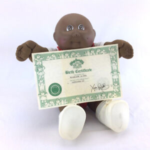 Cabbage Patch Kids Doll Vintage 1982 Birth Cert African American