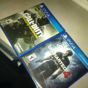 PS4 Uncharted 4 & Call of Duty Infinite Warfare