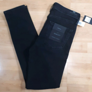 Citizens of Humanity Rocket High Rise Skinny Ember Black Size 30