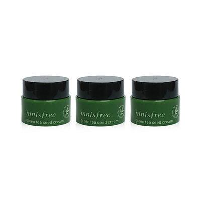 [INNISFREE] Green Tea Seed Cream 5ml * 3pcs [Sample] - BEST Korea Cosmetic