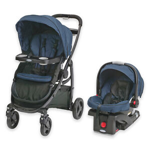 Graco Modes Click Connect Travel System in Black/Blue