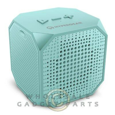 Naztech HyperGear Sound Cube Wireless Speaker - Teal Guard Shield for sale  Shipping to India