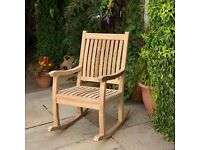 Tuscany Grade A Teak Garden Rocking Chair