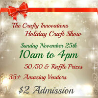 The Crafty Innovations Holiday Craft Show