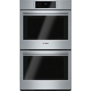 """Bosch HBLP651UC Benchmark Series 30"""" Stainless Steel Double Wall"""
