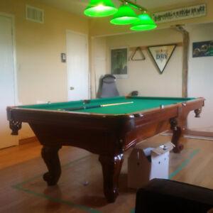 8 X 4 Slate Pool Table