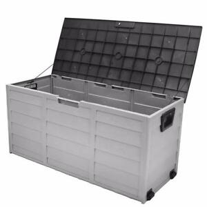 Outdoor Storage Bin for all weather / Pool Deck Box Storage - brand new - FREE SHIPPING
