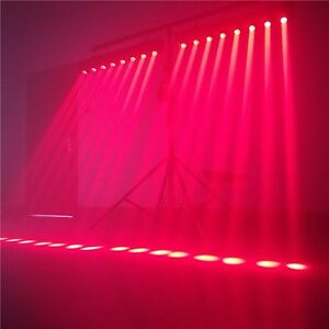 20 Feet Aluminum Truss & 2 Sweeper Led Beam Bars 8*12w RGBW