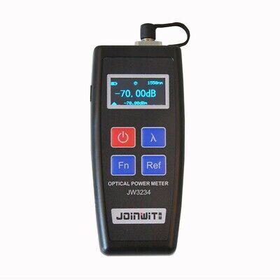 Fiber Optical Power Meter Tester Fiber Optic Oled Screen 6 Calibrated Wavelength
