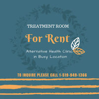 Treatment Room for Rent in Alternative Health Clinic