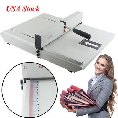Usa350mm Manual Hand Paper Card Creaser Creasing Scoring Machine Scorer 35cm
