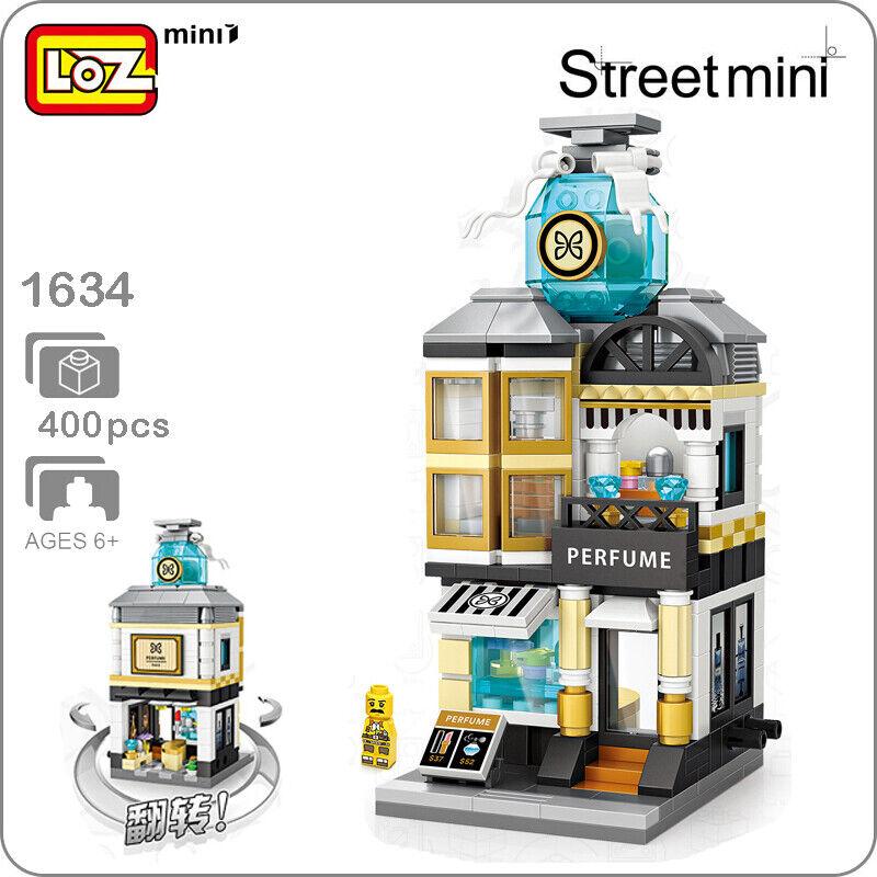 LOZ City Street 1641 Squirrel Nut Food Shop Store Mini Blocks Nano Building Toy