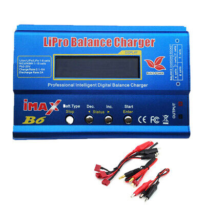 IMAX B6 80W Lipo RC NiMh NiCD Battery Charger Balance Discharger for RC Drones
