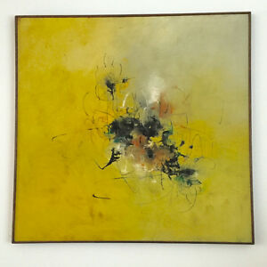 ABSTRACT OIL PAINTING by LEANDRO VELASCO