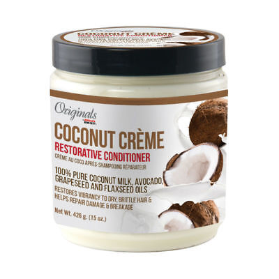 Africa's Best Originals Coconut Creme Restorative Conditioner for Dry Hair (Best Shampoo Conditioner For Dry Damaged Hair)