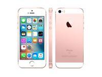 iPhone SE Rose Gold 64GB unlocked
