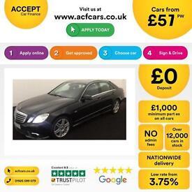 Mercedes-Benz E250 FROM £57 PER WEEK!