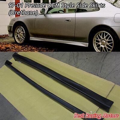 JDM Style Side Skirts (Urethane) Fits 97-01 Honda Prelude