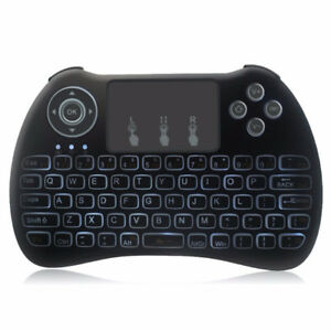 H9 Backlit Backlight Mini 2.4G Wireless Touchpad Keyboard Mouse
