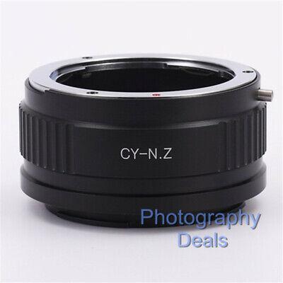 CY-NZ Lens Mount Adapter For Contax Yashica C/Y Lens to Nikon Z Z6 Z7 Camera gebraucht kaufen  Versand nach Germany