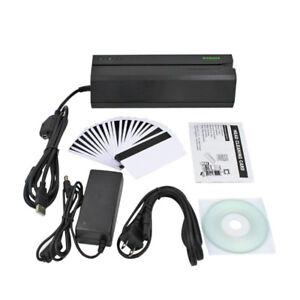 MSR605 HiCo Magnetic Stripe Card Reader Writer Encoder