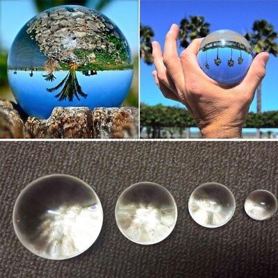 Ball Table Decorations (30/40mm Clear Glass Crystal Ball Home Office Table Decorations Photo Props)